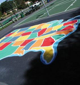 Playground Surface