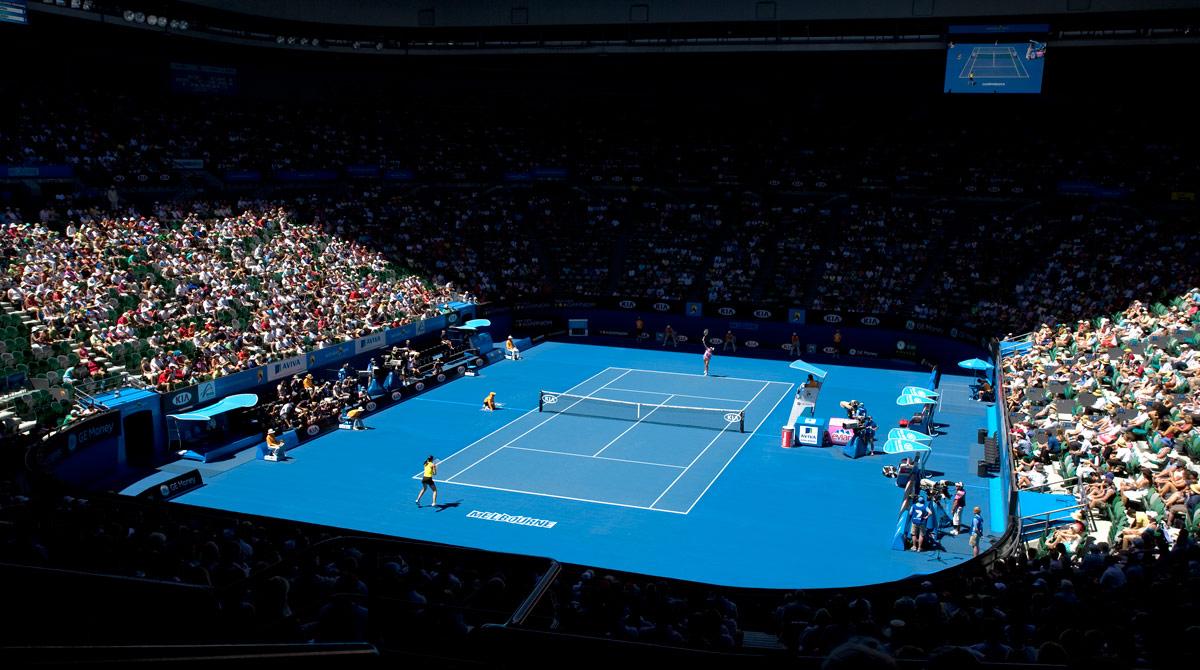 Li Na Wins First Australian Open Championship On Plexicushion By